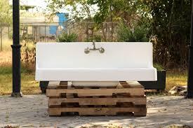 Amazoncom Large Antique Style Farm Sink Double Drainboard High