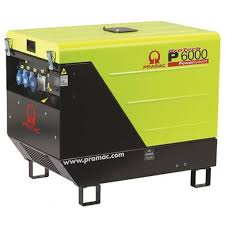 diesel generator. Pramac 6kVA AVR Silenced Auto Start Diesel Generator