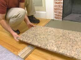 install the hearth stone