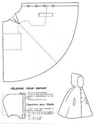 Capelet Pattern Extraordinary Capelet Patterns Sewing Drawing And Cutting Pattern And Sewing