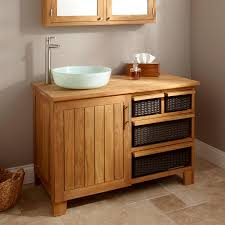 Teak Vanity Bathroom 44 Covelo Teak Vessel Sink Vanity Bathroom