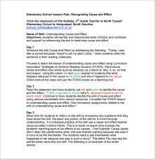 Sample Lesson Plans Format Elementary Lesson Plan Template 11 Pdf Word Format Download