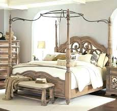 Wrought Iron Canopy Bed Antique Vintage Canada – beampay.co