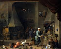francois marius granet the alchemist art blart david teniers d j alchemist in his workshop c 1650