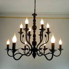 large outdoor chandelier wrought iron medium size of rustic big