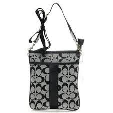 Coach Legacy Swingpack In Signature Small Grey Crossbody Bags AI