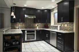 kitchens with espresso cabinets cabinets espresso kitchen cabinets with black stainless steel appliances