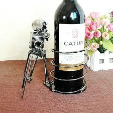 wine bottle and glass rack wine bottle glass holder stake set