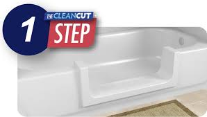 adds step in and walk through accessibility to your existing bathtub convert to walk in shower