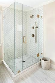 master bathroom shower tile. Herringbone Shower Tile Master Bathroom With White Tiles And Gray Grout Features Perfect Dimensional Patterns T