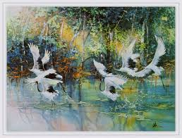 lian quan zuen lian quan zhen Картин на сайте 15 watercolor birdwatercolor paintingsaboriginal
