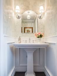 amazing of pedestal sink powder room best traditional powder room with a pedestal sink design ideas