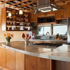 Concrete Countertops With Glass Design Ideas Pictures Remodel And Adorable Kitchen Remodel Albuquerque Decoration