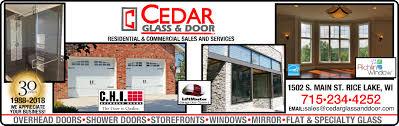 glass or mirror cut to size garage doors openers s or service shower doors