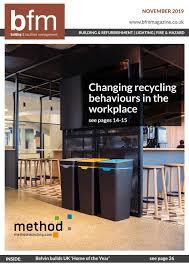 Facilities Design And Management Magazine Building Facilities Management Magazine November 2019
