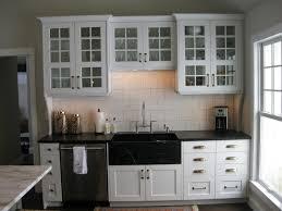 Glass Kitchen Cabinet Pulls Kitchen Cabinet Hardware Ideas Photos Amys Office