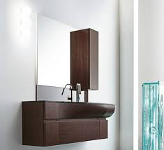 Curved Vanity design by RAB Aredobagno  Wave contemporary Italian vanity