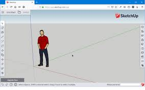 This tool can create an arc from two points and a drag. Sketchup Free For Beginners