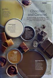 chocolate and caramel paint colors