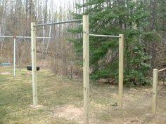 Outdoor Gym And Monkey Bar U2026  Pinteresu2026Backyard Pull Up Bar Plans