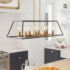 Island pendant lighting Black Shisler 8light Kitchen Island Pendant Birch Lane Kitchen Island Pendants Birch Lane