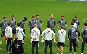 #diemannschaft in english news from the germany national teams & dfb! Nations League Dfb Team Kehrt Fruher Aus Ukraine Zuruck