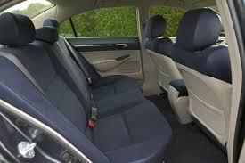 2007 honda civic hybrid rear seats picture