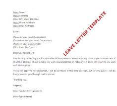 Formal Letter Format Leave Application Plks Tk