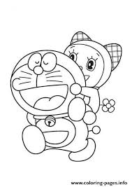 Doraemon is a japanese show featuring a robot cat from the future. Print Doraemon And Dorami 8a71 Coloring Pages Cartoon Coloring Pages Coloring Books Coloring Pages For Boys