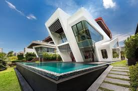 architecture design. Mercurio Design Lab House With Pool In Singapore Architecture T