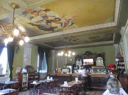The stately elegance of the cafe at Costa Rica's National Theater (Teatro  Nacional) make