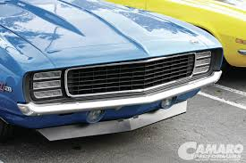 Chevy Camaro Front Grille RS Conversion - Camaro Performers Magazine