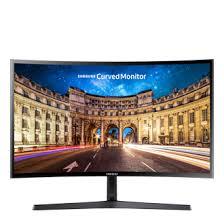 Изогнутый <b>монитор</b> 23,5 дюйма <b>Samsung C24F396FHI</b> | Samsung ...