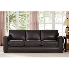 contemporary leather sofa sleeper. neil leather sofa contemporary sleeper i