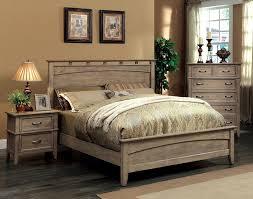 Amazon Furniture of America Vine II Rustic Style Solid Wood