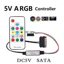 Cooling System Light Source Controller 5v Argb Led Cool Light 5v Symphony Edition Versus Remote Control