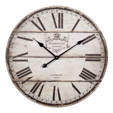 Horloge En Bois Beige D 60 Cm Trianon Country House Pinterest