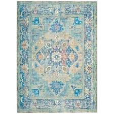 blue gold area rug and navy