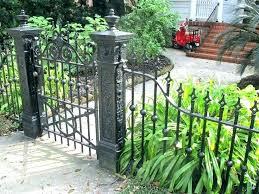 wrought iron garden fence home depot iron fence iron garden fence enchanting wrought iron gates and fences and wrought iron fences and gates orange wrought