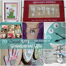 20 Sweet DIY Grandparent Gifts at NotSoIdleHands.com