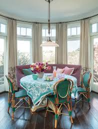 dining room table cloth. View In Gallery Vibrant Turquoise And White Tablecloth For A Light-filled Beach House Dining Room Table Cloth