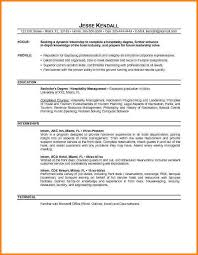 9 Resume Objective Internship Happy Tots