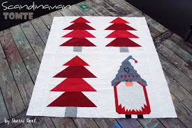 Christmas Quilt Patterns New Christmas Quilt Pattern Scandinavian Tomte