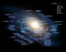 Mass Effect Star Chart Maps Of Science Fiction In 2019 Galaxy Map Andromeda