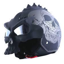 3d skull helmet ebay