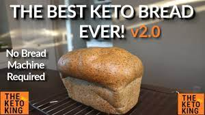 If you don't have a bread machine, here's how to make it without a machine. The Best Keto Bread Ever Oven Version Keto Yeast Bread Low Carb Bread Ketogenic Bread Youtube