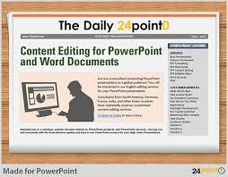 Custom Newspaper Template Using Editable Newspaper Powerpoint Template In Business Presentations