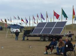 water protectors camp near standing rock a photo essay and solar panels help power the camp too