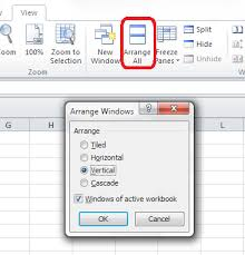 how to make a sheet in excel how do i view two sheets of an excel workbook at the same time