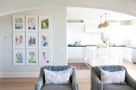 Modern Coastal Family Room - Becki Owens